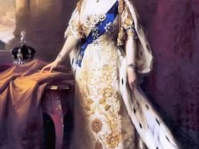 在她面前,英女王的那些算什么!