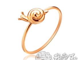 蜗牛金饰 时尚设计加别致的造型趣味横生
