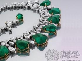 浓艳高贵祖母绿宝石