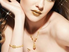 璀璨纯金与水晶激发起黄金浪漫意境