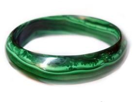 孔雀石 美得艳丽绿得细腻