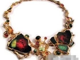 著名Macumba碧玺项链,一曲热情的珠宝之舞