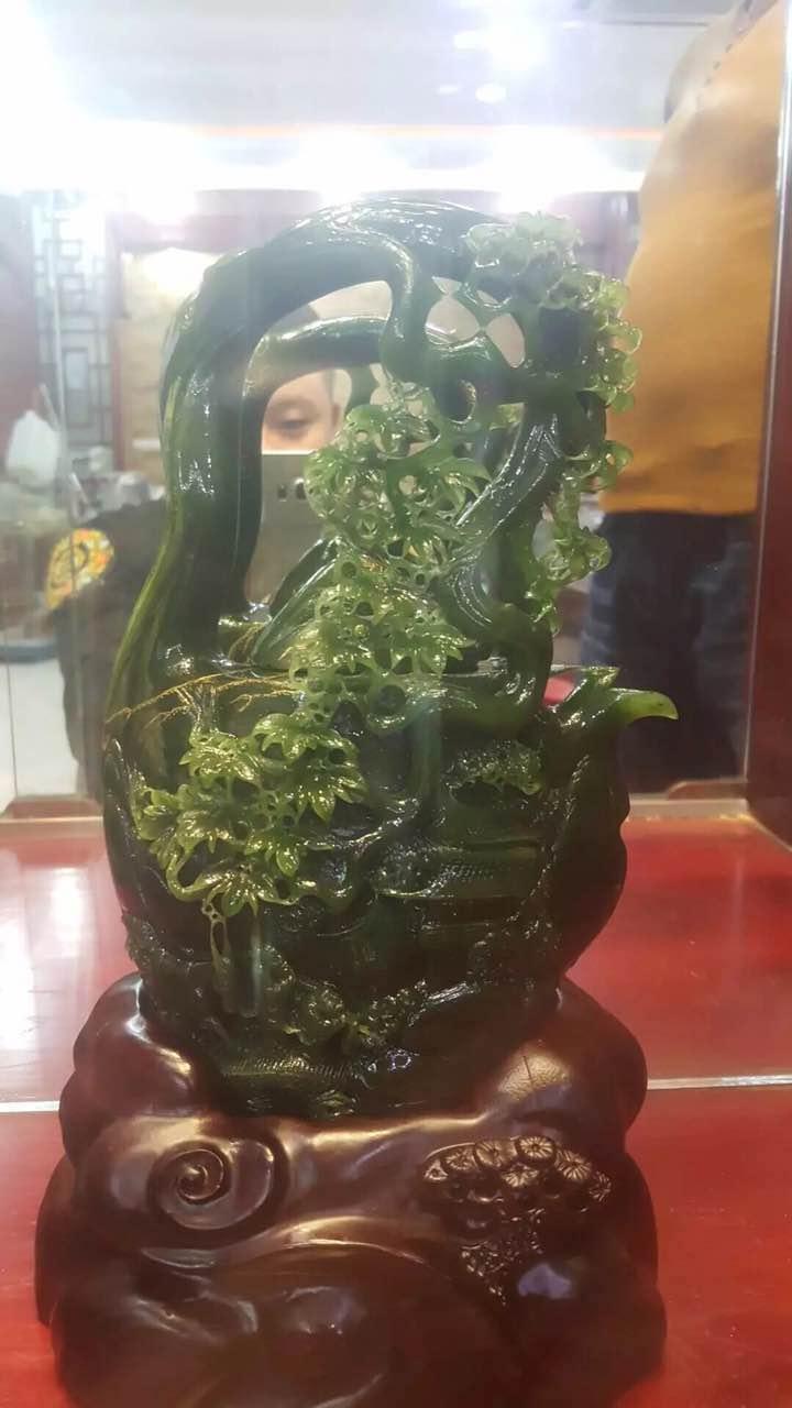 玉雕大师韩义:独山玉雕刻技法创新探索