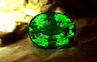 铬碧玺与绿碧玺等宝石的区别-玉器鉴定师培训核心内容