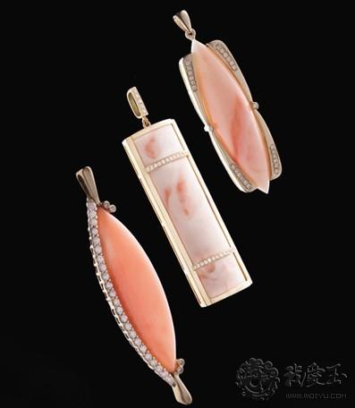 工艺独特 ,彰显五彩珊瑚之红粉色彩