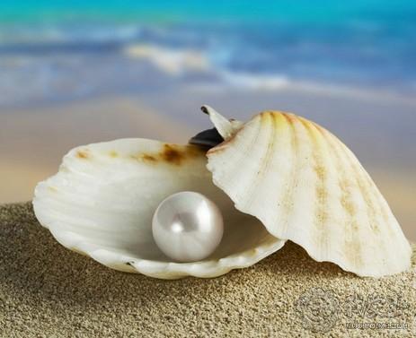 珍珠未经雕琢的古典,选购小技巧