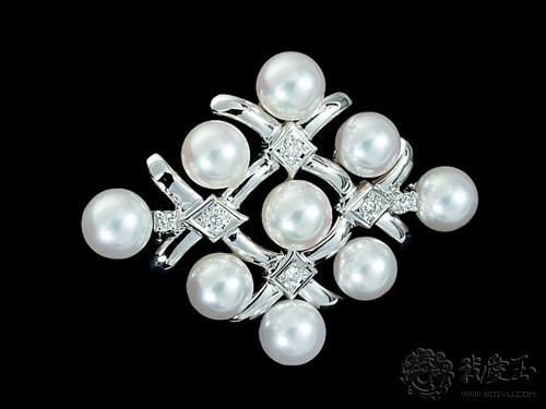 珍珠项链:珍珠的品牌,M记