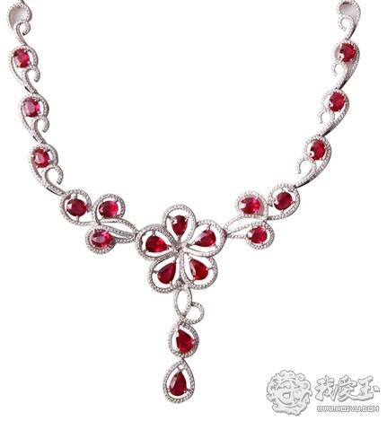 浪漫的夏日 菜百红宝石装点你的完美爱情