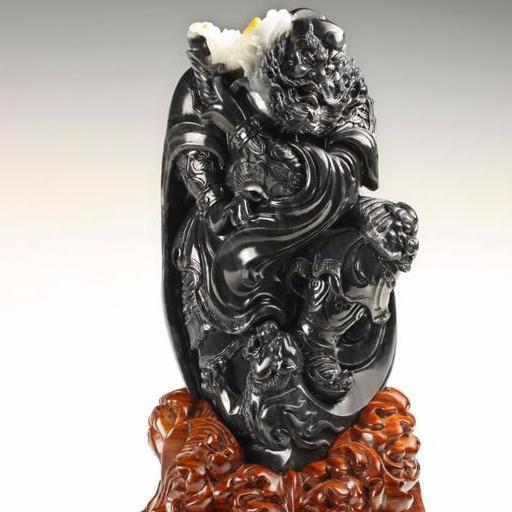中国雕刻大师玉侠崔涛谈和田玉里的神明